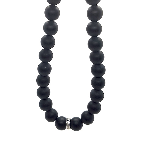 King CG Collection - Black Onyx Matte Necklace