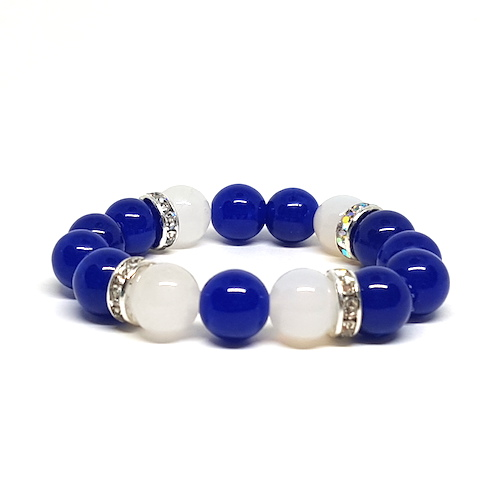 Jazzy's Beads - Beautiful Blue Skies