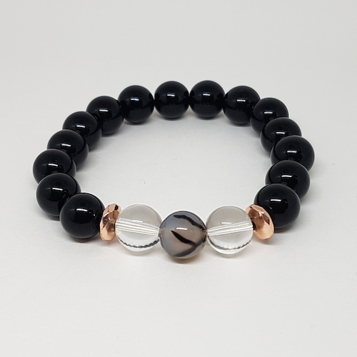 Everyday Love Collection - Onyx & Quartz
