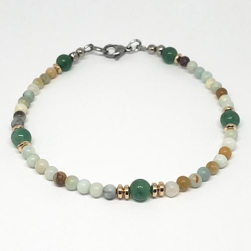 Anklet Collection - Amazonite Love
